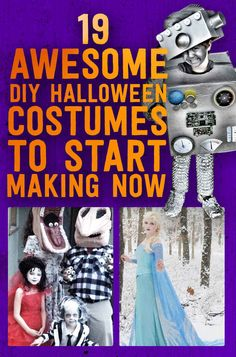 19 Awesome DIY Halloween Costumes To Start Making Now including Doctor Who weeping angel