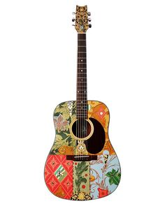 Altered Acoustic Guitar  Modified Playable by ArtfulMusicianPRTLND, $375.00