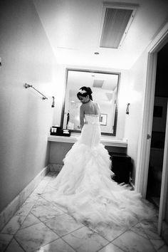 Love the dress! @Four Seasons Resort Maui #mauiwedding #fourseasonsmaui #waileawedding