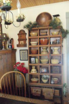 kitchen and yellow ware