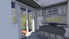 ragsdale homes: Man Invents Expandable Tiny Houses with Pop Outs