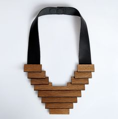 1000 Images About Wood Necklace On Pinterest Wooden