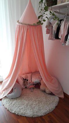 Friedas #Baldachin #rosa #Kinderzimmer #Kuschelecke