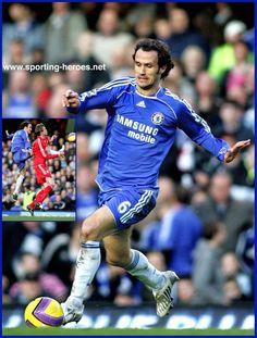 Ricardo Carvalho - Chelsea. Chelsea Blue, Fc Chelsea, Chelsea Football, Football Team, Champions League 2007, Love Affair, Manchester United, Portugal, Legends