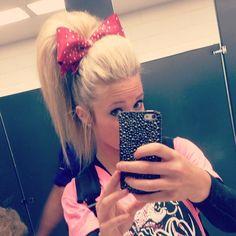 Carly Manning Cheer Hair