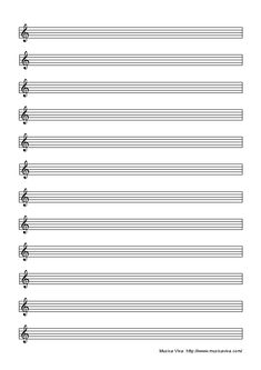 Superior Blank Music Paper