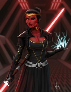 Sith Pureblood by Mauricio-Morali on DeviantArt Star Wars Mädchen, Star Wars The Old, Star Wars Droids, Star Wars Girls, Sith Pureblood, Cyberpunk, Female Sith, Sith Warrior, Star Wars Characters Pictures