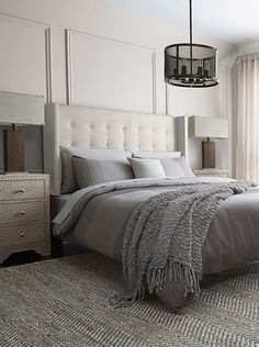 Canada's Best Furniture & Home Decor Store Winter Bedroom Decor, Home Decor Bedroom, Master Bedroom, Bedroom Ideas, Tufted Headboard Queen, Stylish Home Decor, Headboards For Beds, Headboard Ideas, Home Decor Store