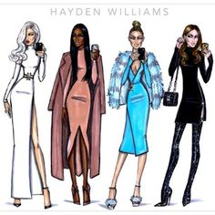 The Selfie Series by Hayden Williams. Which selfie look was your favourite?