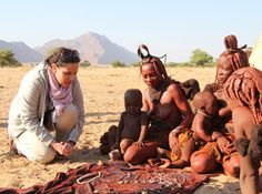 Liesel spends some time with Himba women and their children in northern Namibia. African Vacation, Game Reserve, African Safari, Africa Travel, How To Know, Continents, Where To Go, Scenery, In This Moment