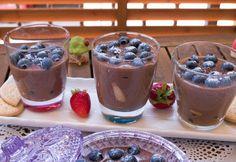 Házi főzött csokipuding áfonyával Ale, Pudding, Desserts, Recipes, Food, Tailgate Desserts, Deserts, Ale Beer, Custard Pudding