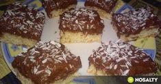 Bounty szelet Diakától recept képpel. Hozzávalók és az elkészítés részletes leírása. A bounty szelet diakától elkészítési ideje: 40 perc Pudding, Cookies, Cake, Sweet, Food, Crack Crackers, Candy, Custard Pudding, Biscuits