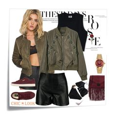 """""""chiclookcloset#11"""" by autumn-soul ❤ liked on Polyvore featuring Post-It, Puma, Salvatore Ferragamo and Loeffler Randall"""
