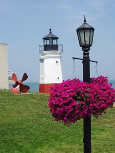 A visit to the lighthouse is a must. Vermilion, Ohio