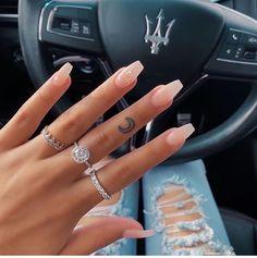 milky nails design - milky nails _ milky nails acrylic _ milky nails pale pink _ milky nails with flowers _ milky nails white _ milky nails coffin _ milky nails design _ milky nails short Acrylic Nails Coffin Short, Simple Acrylic Nails, Pink Acrylic Nails, Simple Nails, Bright Summer Acrylic Nails, Wedding Acrylic Nails, Natural Acrylic Nails, Acrylic Gel, Winter Acrylic Nails
