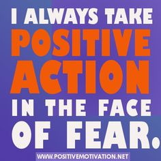 Daily Courage Affirmation - I always take positive action in the face of fear. Mind Tricks, Positive Messages, Inspirational Message, Love Valentines, Powerful Words, Positive Affirmations, Forgiveness, Self, Action