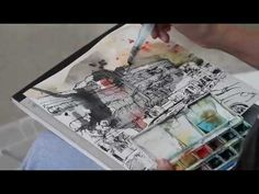 TIA at Tiong Bahru, Drawing and Painting on Location