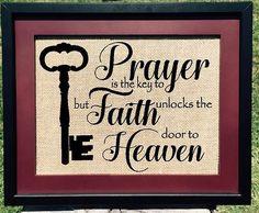 Prayer & Faith Print  #pray #prayer #Christ  #GOD #Christian #home #etsy #etsyteams