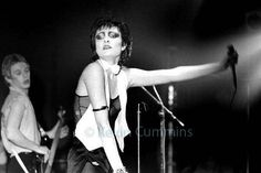 "bottom-dave-gahan: ""siouxsie and the banshees, 1977 """
