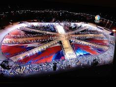 London Olympics (stage design Damien Hirst)