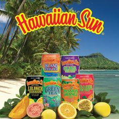 Hawaiian Sun juices, the fuel behind all my childhood activities