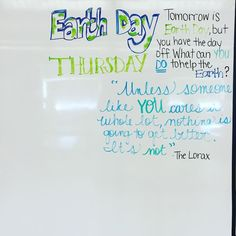 In honour of how can you help preserve our planet? Classroom Whiteboard, Classroom Board, Interactive Whiteboard, Classroom Ideas, Classroom Community, School Community, Morning Board, Morning Activities, Daily Writing Prompts