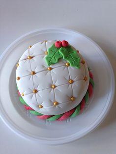 Christmas cake/ como amo el capitone en pasteles