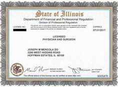 Licencia Médica: Certified Physician and Surgeon