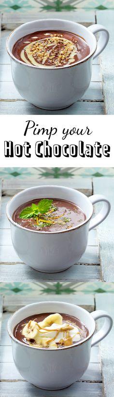 Heiße Schokolade: 6 x anders, immer unglaublich yummy!