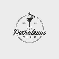 31 amazing nightclub and bar logos to inspire you - Beer Logo Design, Cake Logo Design, Wedding Logo Design, Restaurant Logo Design, Elegant Logo Design, Food Logo Design, Design Design, Kids Logo, Burger Logo
