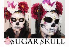 Halloween Make up | Sugar Skull | CactusCoral