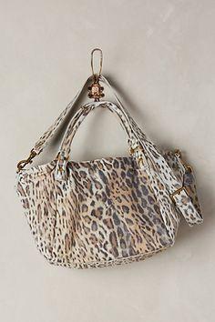 Amanda Leopard Shoulder Bag #anthropologie