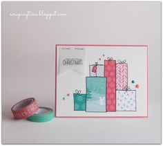"¡Feliz 2016! Create Smile Stamps ""Wrap it up"" http://scrapingtime.blogspot.com.es/2015/12/feliz-2016.html"