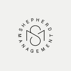 SM Contemporary monogram by British freelance logo designer Richard Baird - www.richardbaird.co.uk