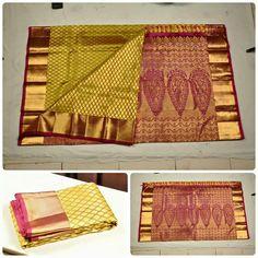 South Indian Silk Saree, Indian Sarees, 11 August, Kanchipuram Saree, Traditional Sarees, Pure Silk Sarees, Designer Sarees, Red Silk, Saris