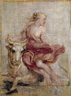 Peter Paul Rubens - The Rape of Europa (1636)