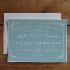 Sophie Wedding Stationery Collection