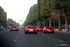 Ferrari @ Champs-Élysées