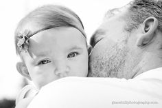 baby and dad - sweet photo