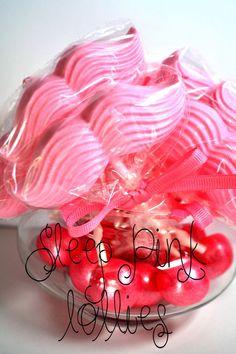 Sleep Pink Lollies www.pinkcakeplate.com