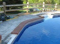 swimming pool brick coping   swimming pool   pinterest   swimming