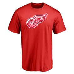 Menu0027s Detroit Red Wings Design Your Own Short Sleeve T Shirt