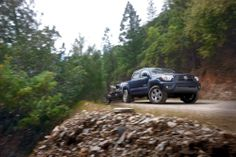 The #Toyota #Tacoma can handle all types of terrain