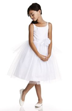 Flower Girl Dress Us Angels Tulle Ballerina Dress (Infant, Toddler, Little Girls & Big Girls) | Nordstrom