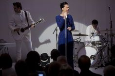 Katy Perry wears ELIE SAAB Pre Fall 2014 for her performance commemorating the Special Olympics at the White House in Washington, D.C.