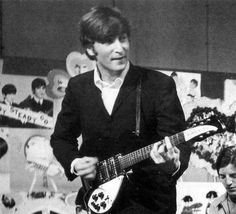 John Lennon on the British TV show Ready Steady Go!