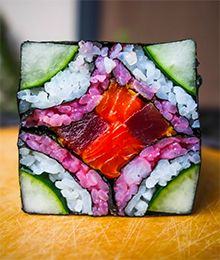 Unsere neue Instagram-Food-Obsession: Mosaic Sushi