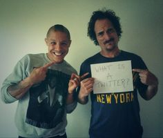 I think I laughed at this more than I should have.  Theo Rossi and Kim Coates. :D they are dang right adorable