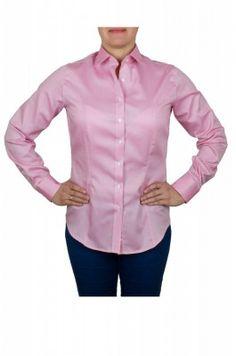 Ružová dámska košeľa
