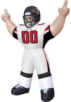 d849fa0beb1 Select NFL Inflatables at The Home Depot Falcons Football, Football Players,